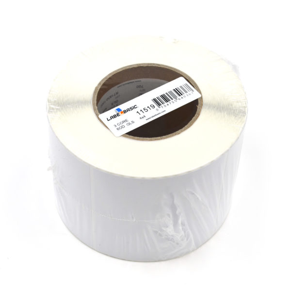 "4"" x 4"" Glossy Inkjet Label Roll"