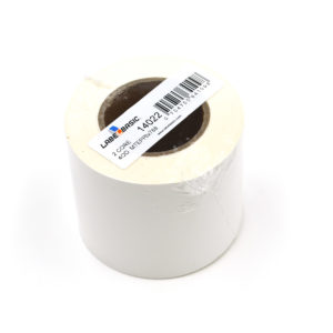 "3"" Continuous Matte Polypropylene Inkjet Label Roll"