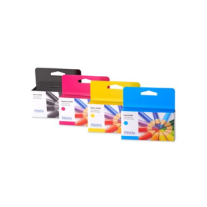 LX1000 & LX2000 High Yield CMKY Ink Cartridge Multi-Pack - Pigment Ink
