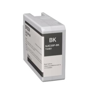 LabelBasic Sells Epson ColorWorks CW-C6000C6500 Black Ink Cartridge SJIC35P