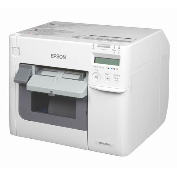 Epson C3500 ColorWorks left view at LabelBasic