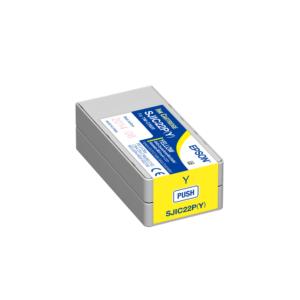 Epson TM-C3500 Color Label Printer Ink Yellow SJIC22P